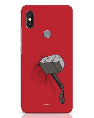Shop Thor Hammer Xiaomi Redmi Y2 Mobile Cover-Front