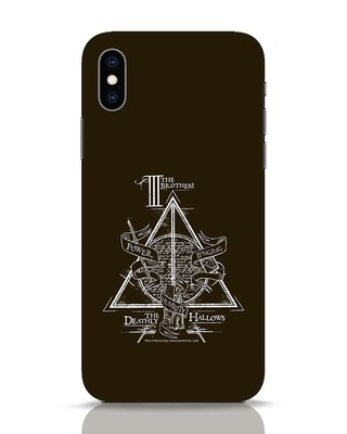 Shop Three Brothers iPhone XS Mobile Cover (HP)-Front