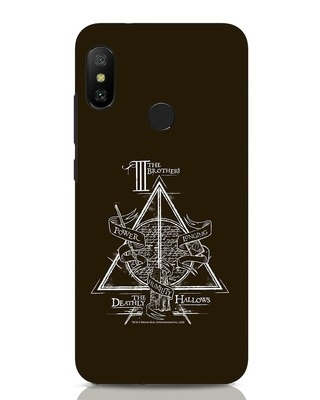 Shop Three Brothers Xiaomi Redmi Note 6 Pro Mobile Cover (HP)-Front