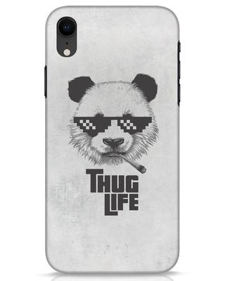 Shop Thug Life iPhone XR Mobile Cover-Front