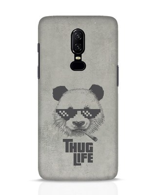 Shop Thug Life OnePlus 6 Mobile Cover-Front