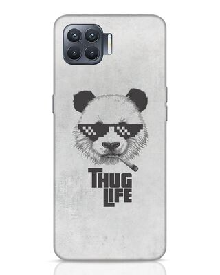 Shop Thug Life Oppo F17 Pro Mobile Cover-Front