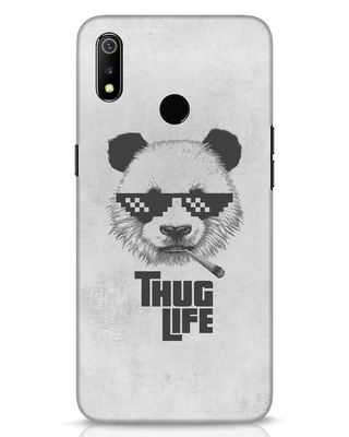 Shop Thug Life Realme 3 Mobile Cover-Front