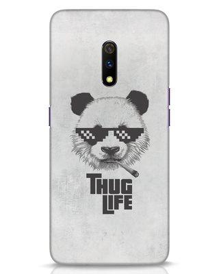 Shop Thug Life Realme X Mobile Cover-Front