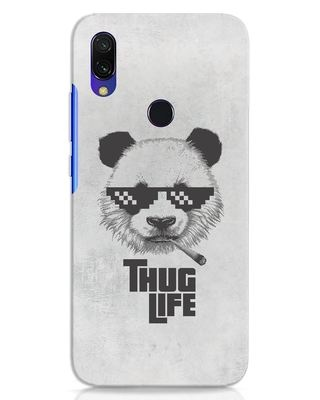 Shop Thug Life Xiaomi Redmi 7 Mobile Cover-Front
