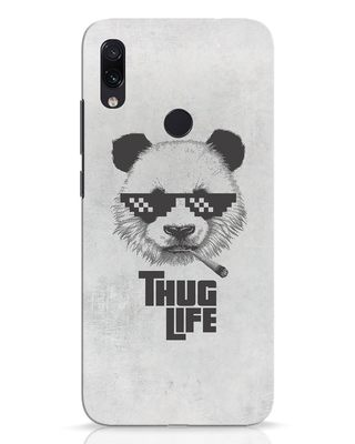 Shop Thug Life Xiaomi Redmi Note 7 Pro Mobile Cover-Front