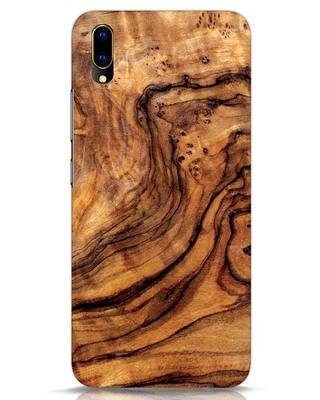 Shop Timber Texture Vivo V11 Pro Mobile Cover-Front