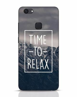 Shop Time To Relax Vivo V7 Plus Mobile Cover-Front