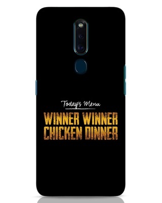 Shop Today's Menu Oppo F11 Pro Mobile Cover-Front