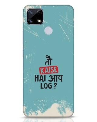 Shop Toh Realme Narzo 20 Mobile Cover-Front