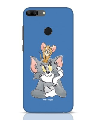 Shop Tom And Jerry Huawei Honor 9 Lite Mobile Cover (TJL)-Front