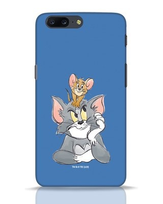 Shop Tom And Jerry OnePlus 5 Mobile Cover (TJL)-Front