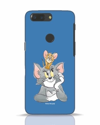 Shop Tom And Jerry OnePlus 5T Mobile Cover (TJL)-Front