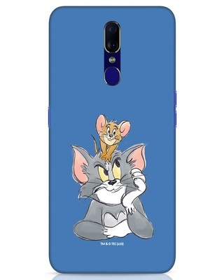 Shop Tom And Jerry Oppo F11 Mobile Cover (TJL)-Front