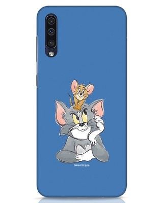 Shop Tom And Jerry Samsung Galaxy A50 Mobile Cover (TJL)-Front