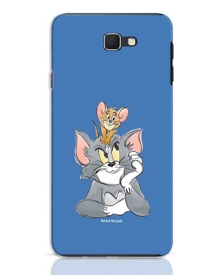 Shop Tom And Jerry Samsung Galaxy J7 Prime Mobile Cover (TJL)-Front