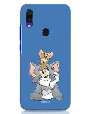 Shop Tom And Jerry Xiaomi Redmi 7 Mobile Cover (TJL)-Front