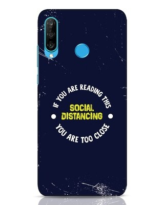 Shop Too Close Huawei P30 Lite Mobile Cover-Front