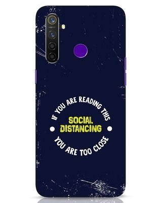 Shop Too Close Realme 5 Pro Mobile Cover-Front