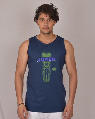 Shop Torn Joker Vest (BML)-Front