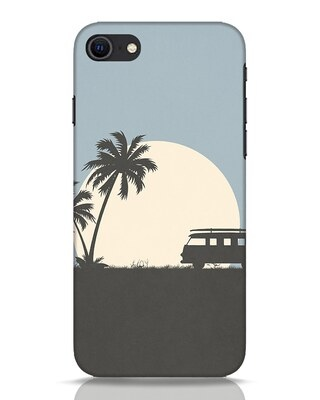 Shop Travel Always iPhone SE 2020 Mobile Cover-Front