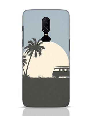 Shop Travel Always OnePlus 6 Mobile Cover-Front