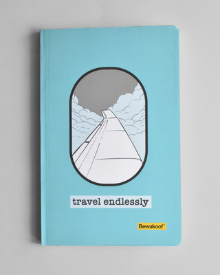 Shop Travel Endlessly Notebook-Front
