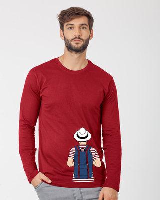 Shop Travel Freak Full Sleeve T-Shirt-Front