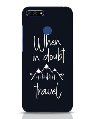 Shop Travel Huawei Honor 7A Mobile Cover-Front