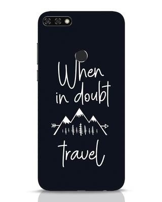 Shop Travel Huawei Honor 7C Mobile Cover-Front
