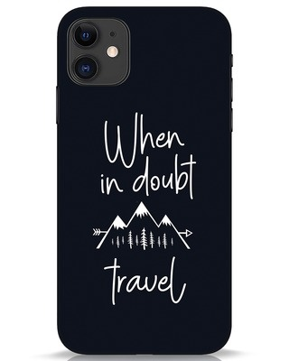 Shop Travel iPhone 11 Mobile Cover-Front