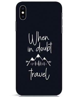 Shop Travel iPhone XS Max Mobile Cover-Front