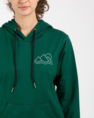Shop Travel Minimal Fleece Hoodies-Front