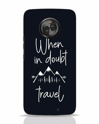 Shop Travel Moto X4 Mobile Cover-Front
