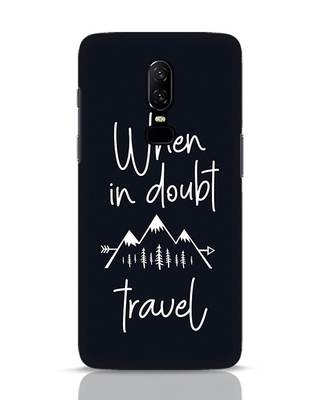Shop Travel OnePlus 6 Mobile Cover-Front