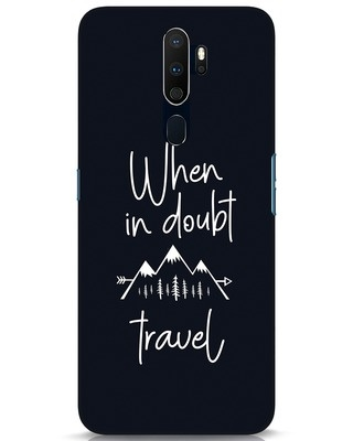 Shop Travel Oppo A9 2020 Mobile Cover-Front
