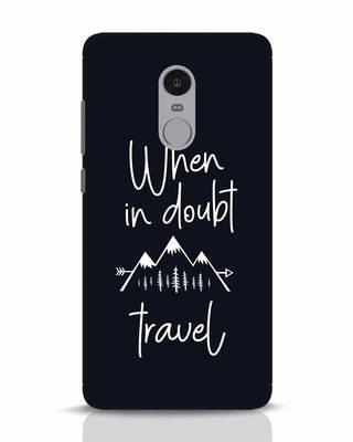Shop Travel Xiaomi Redmi Note 4 Mobile Cover-Front