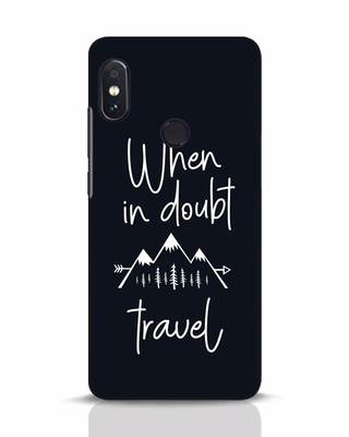 Shop Travel Xiaomi Redmi Note 5 Pro Mobile Cover-Front