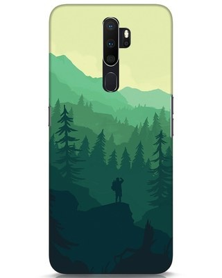 Shop Trek Oppo A5 2020 Mobile Cover-Front