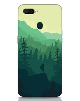 Shop Trek Oppo A7 Mobile Cover-Front