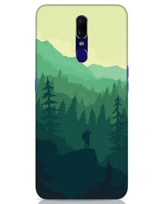 Shop Trek Oppo F11 Mobile Cover-Front
