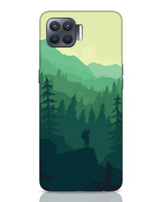 Shop Trek Oppo F17 Pro Mobile Cover-Front