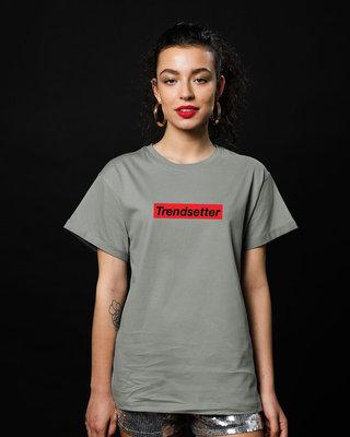 Shop Trendsetter Boyfriend T-Shirt-Front