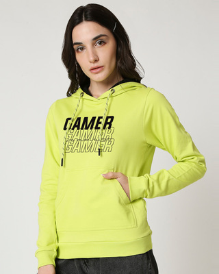 Shop Tri Gamer 2.0 Fleeces Hoodies-Front