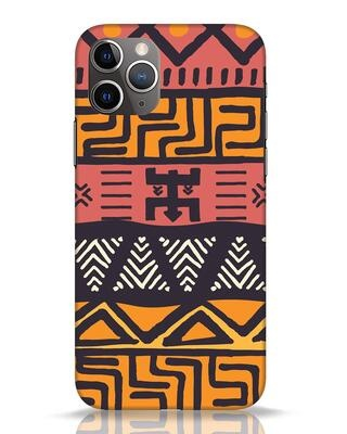 Shop Tribal Ethnic iPhone 11 Pro Mobile Cover-Front