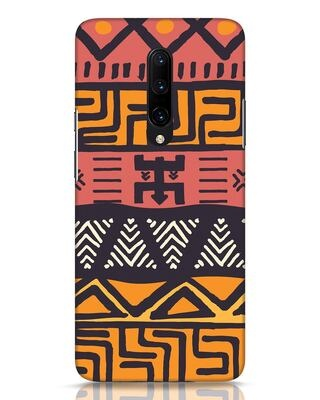 Shop Tribal Ethnic OnePlus 7 Pro Mobile Cover-Front