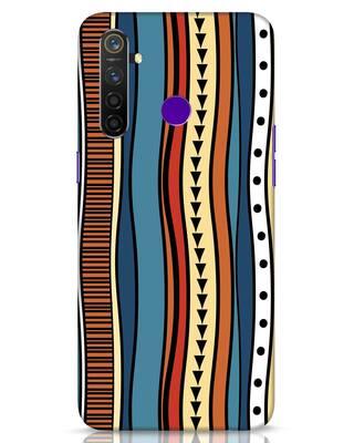 Shop Tribal Wave Realme 5 Pro Mobile Cover-Front
