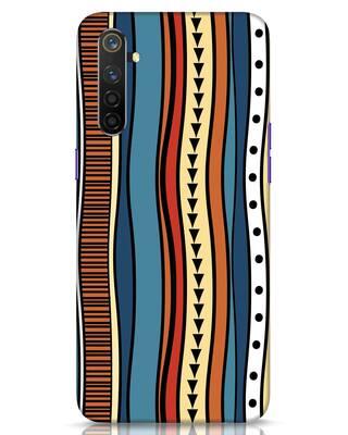 Shop Tribal Wave Realme 6 Pro Mobile Cover-Front