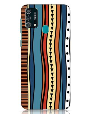Shop Tribal Wave Samsung Galaxy F41 Mobile Cover-Front