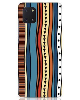 Shop Tribal Wave Samsung Galaxy Note 10 Lite Mobile Cover-Front